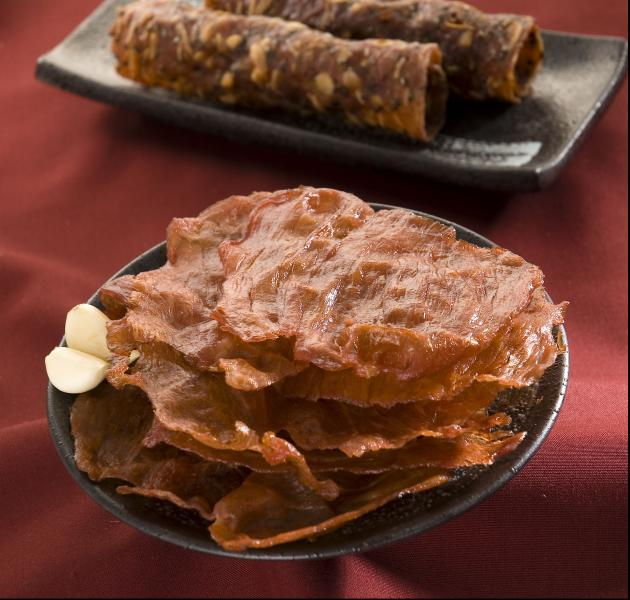 蒜味肉乾150g 1